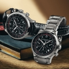Baume & Mercier Capeland Chronograph 42 mm Watch 10062 and 10084