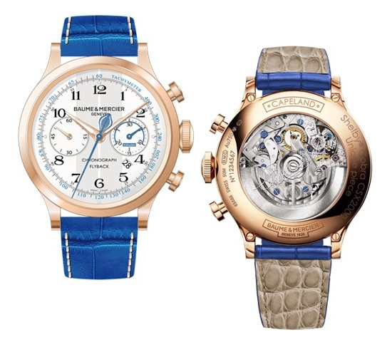 Baume & Mercier Capeland Shelby Cobra CSX 2000 Watch - Front and Back