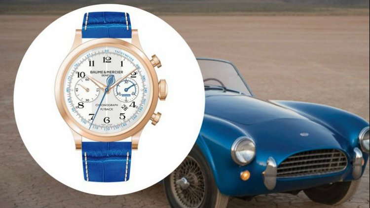 Baume & Mercier Capeland Shelby Cobra CSX 2000 Watch