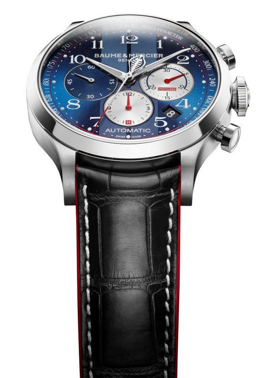 Baume & Mercier Capeland Shelby Cobra Limited Edition Watch Front