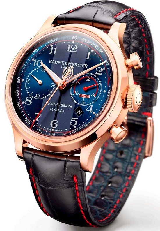 Baume & Mercier Capeland Shelby Cobra Red Gold Watch