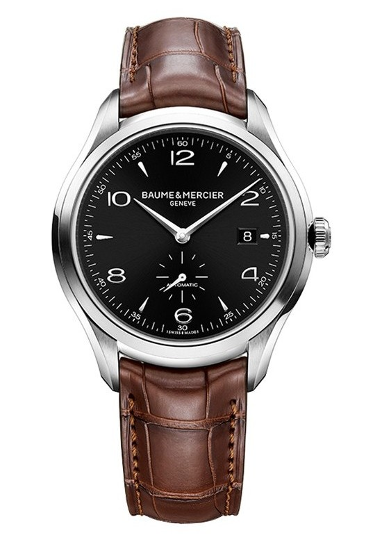 Baume & Mercier Clifton Small Seconds Watch 10053 Front