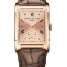 Baume & Mercier Hampton Small Seconds in Rose Gold Watch Front View