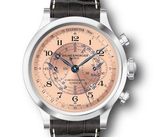 Baume & Mercier Capeland Flyback Chronograph US Limited Edition Watch Dial