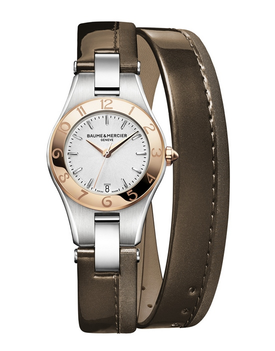 Baume & Mercier Linea Straps Limited Edition Dark Chocolate