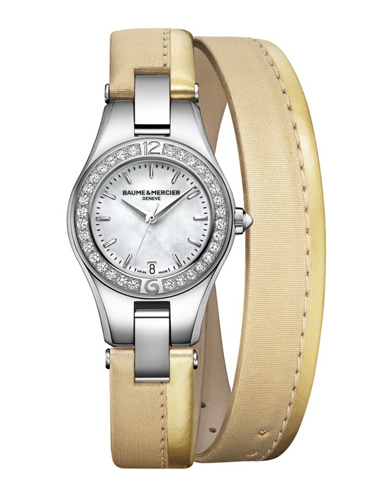 Baume & Mercier Linea Straps Limited Edition Golden Glaze