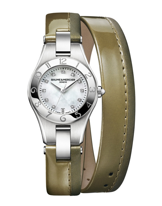 Baume & Mercier Linea Straps Limited Edition Olive Green