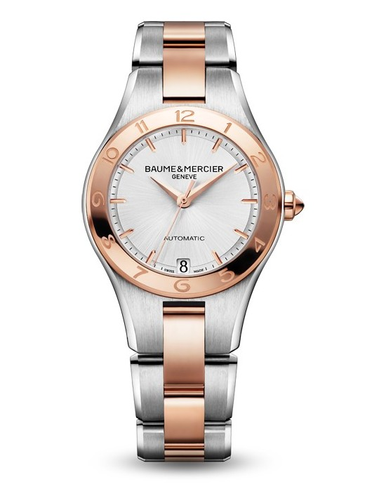 Baume & Mercier Two-Tone Linea Automatic 10073 Watch
