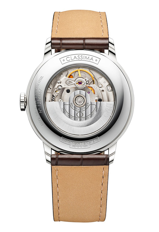 Baume & Mercier 2015 Classima Watch Case Back