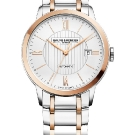 Baume & Mercier 2015 Classima Steel Gold Watch