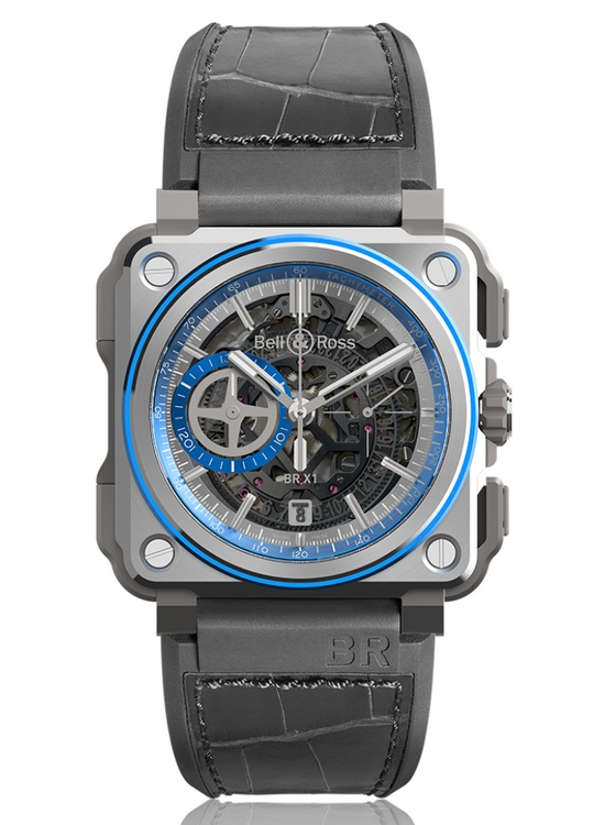 Bell & Ross Aviation BR-X1 Hyperstellar Watch Front