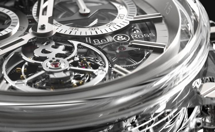 Bell & Ross BR-X1 Tourbillon Sapphire Watch Detail