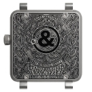 Bell & Ross BR01 Burning Skull Watch Case Back