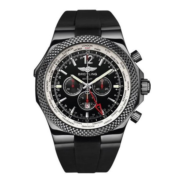 Breitling For Bentley GMT Midnight Carbon Limited Edition