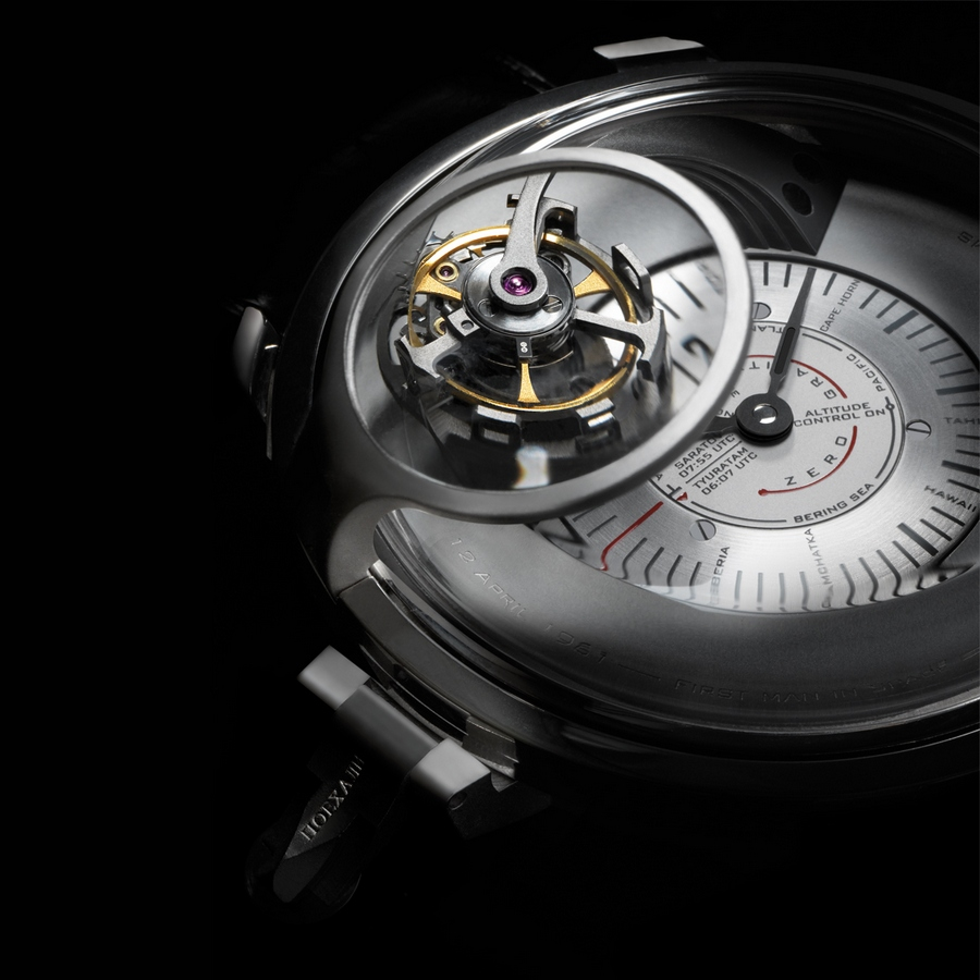Bernhard Lederer Gagarin Tourbillon Watch