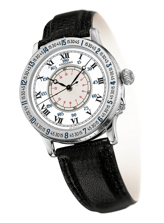 Longines Heritage Lindbergh Hour Angle L2.601.4.11.2 Watch 38mm