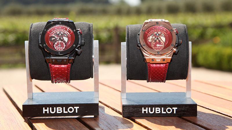 Hublot Big Bang Unico Chronograph Retrograde Kobe Vino Bryant Watches