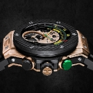 Hublot Big Bang Unico Bi-Retrograde Chrono King Gold Watch Side