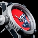 Invicta Russian Diver Artist Series Leather Twin Watch