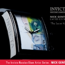 Invicta Russian Diver Artist Series the Secret Eye Watch