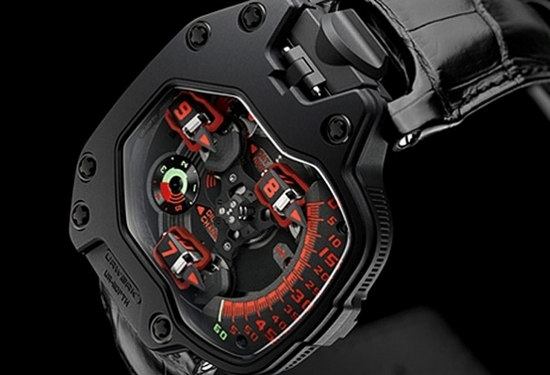 Urwerk UR-110 PTH Watch Dial