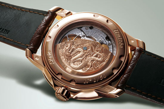 "Blancpain Caruso ""Chinese Dragon"" Limited Edition Watch"