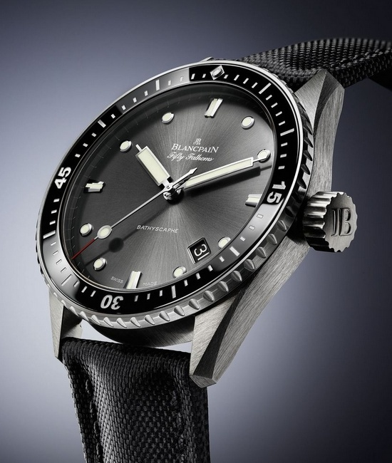 Blancpain Fifty Fathoms Bathyscaphe Men's Watch