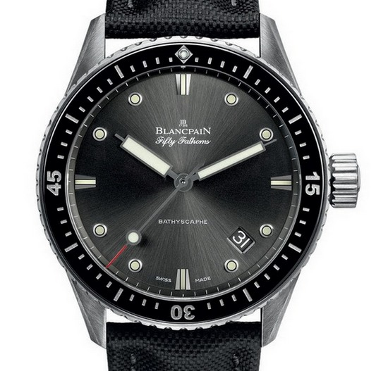 Blancpain Fifty Fathoms Bathyscaphe Watch Black
