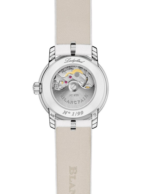 Blancpain Ladybird Saint Valentine's Day 2016 Watch Case Back