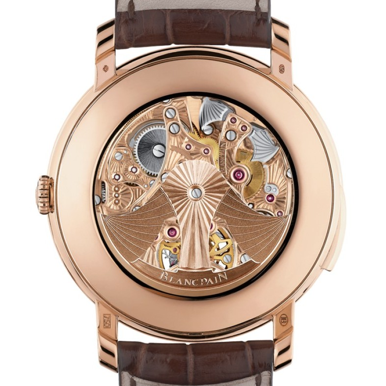 Blancpain Le Brassus Minute Repeater Carrousel Watch 00235-3631-55b Caseback