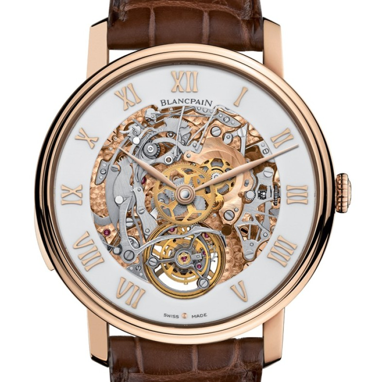 Blancpain Le Brassus Minute Repeater Carrousel Watch 00235-3631-55b