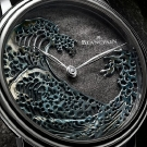 "Blancpain Métiers d'Art Villeret ""The Great Wave"" Watch Dial"
