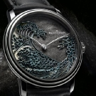 "Blancpain Métiers d'Art Villeret ""The Great Wave"" Watch"