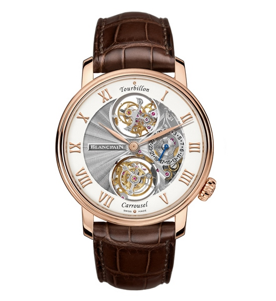 Blancpain Tourbillon Carrousel Watch Front