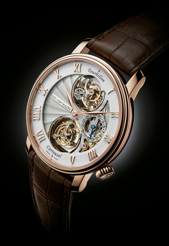 Blancpain Tourbillon Carrousel Watch