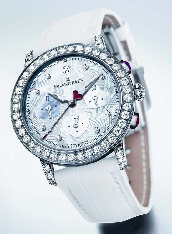Blancpain Saint-Valentin 2012 Chronograph Watch