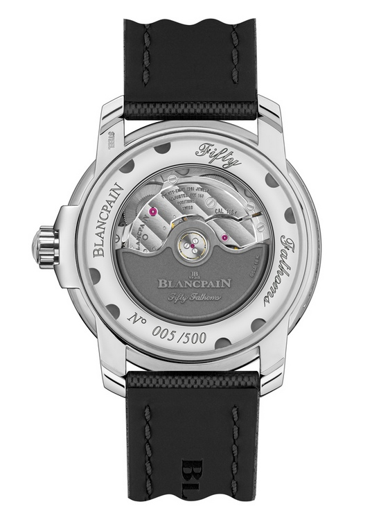 Blancpain Tribute to Fifty Fathoms Mil-Spec Watch Case Back