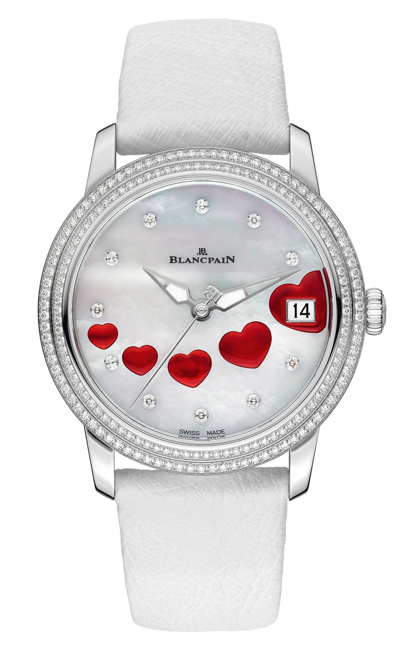 Blancpain Ultraplate Saint Valentin 2013 Limited Edition ...
