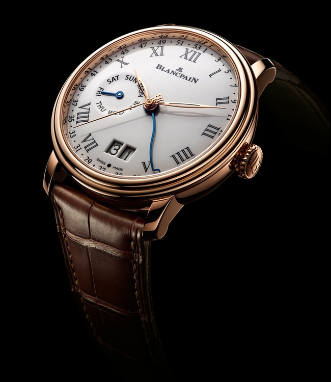 Blancpain Villeret 8 Day Week of the Year Large Date Watch