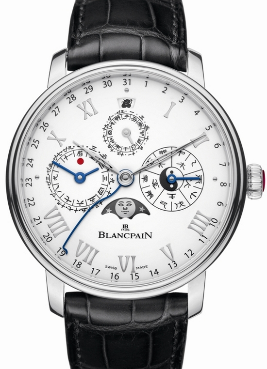 Blancpain Villeret Calendrier Chinois Traditionnel Platinum Watch