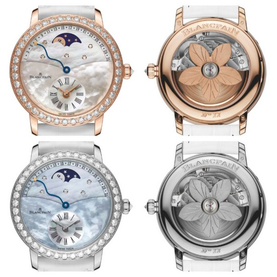 Blancpain Quantieme Rtrograde Ladies Watch