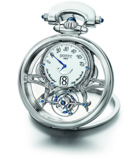 Bovet Amadeo Virtuoso Tourbillon White Gold Watch