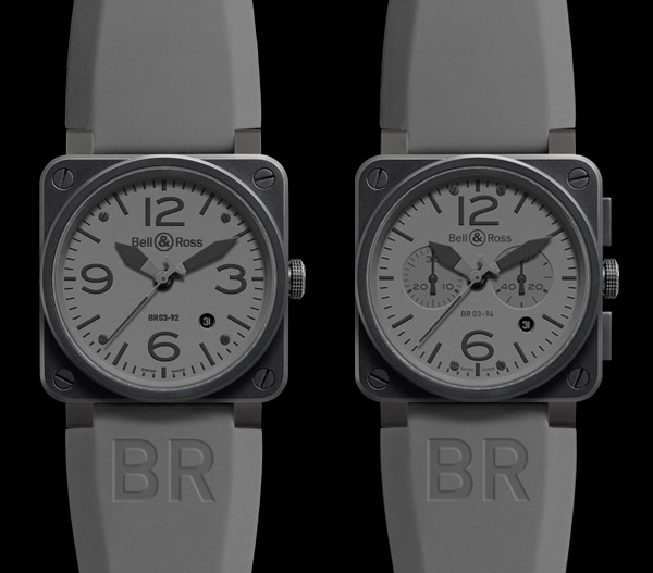 Bell & Ross Aviation Commando BR-03 92 and BR-03 94 Watches