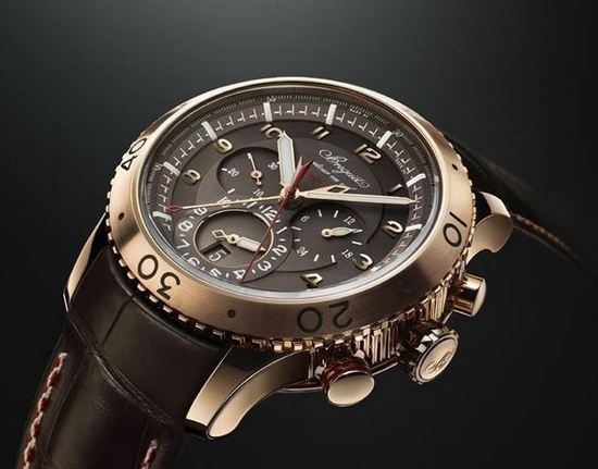 Breguet Chronograph Type XXII Rose Gold Watch