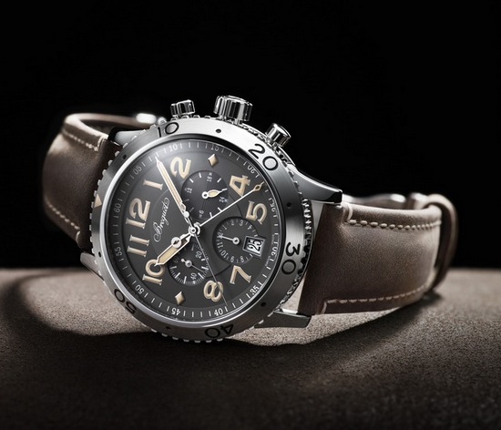 Breguet Type XXI 3813 Chronograph Platinum Only Watch 2015