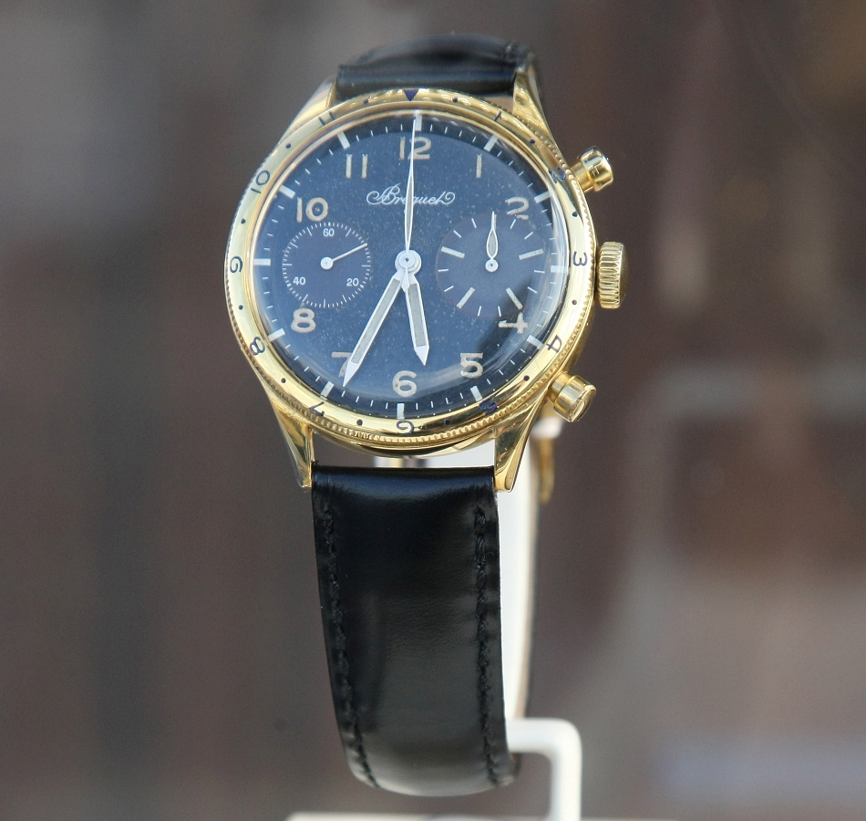 Breguet Type 20 Chronograph 1955 Gold Watch