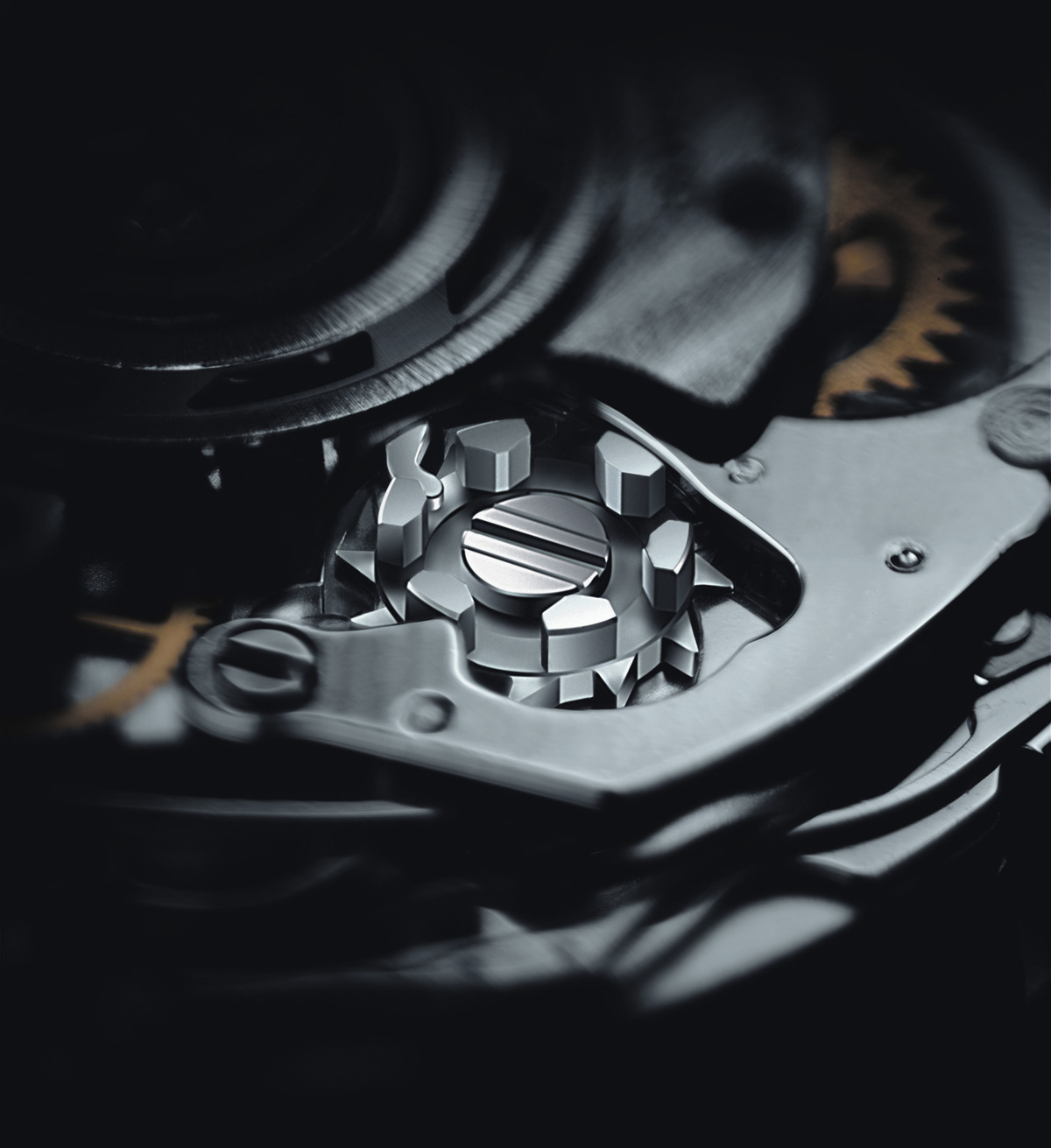 Breitling B01 Movement Detail