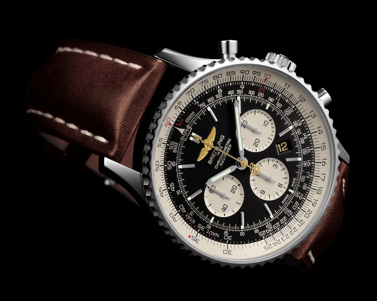 Breitling Navitimer 01 (46mm) DC-3 World Tour Watch Dial