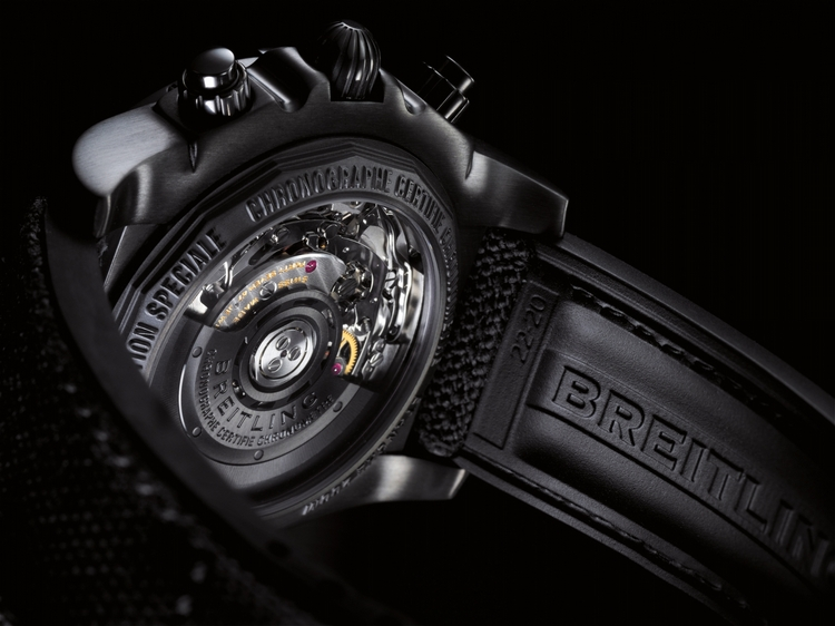 Breitling Chronomat 44 Blacksteel Watch Back