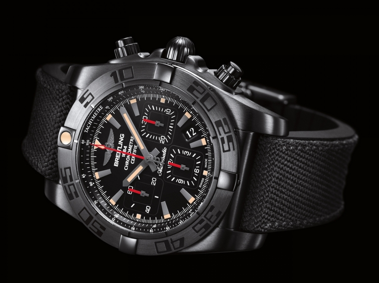 Breitling Chronomat 44 Blacksteel Watch